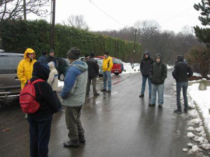 A reggeli eső ellenére sokan jöttek el a programra. (Fotók: Lendvai Csaba)